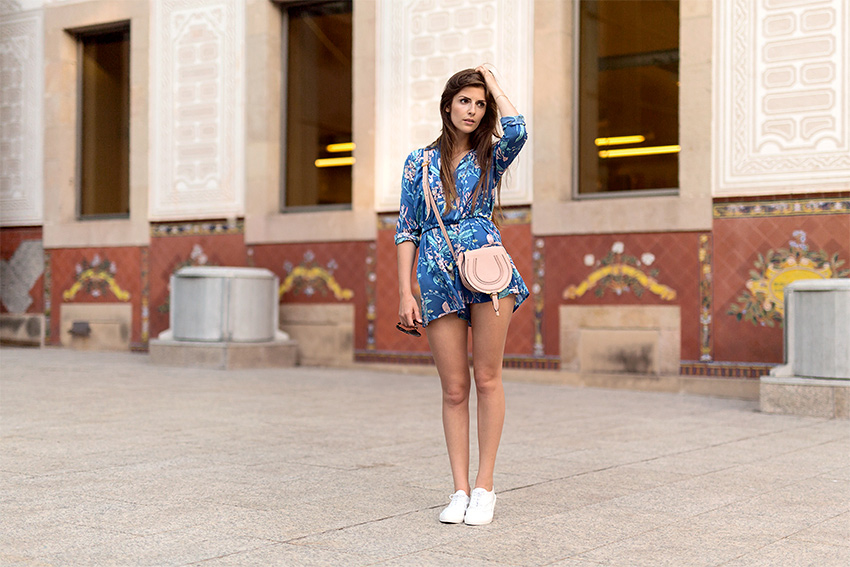 Flower Play Suit Pepe Jeans 8 My July Outfits