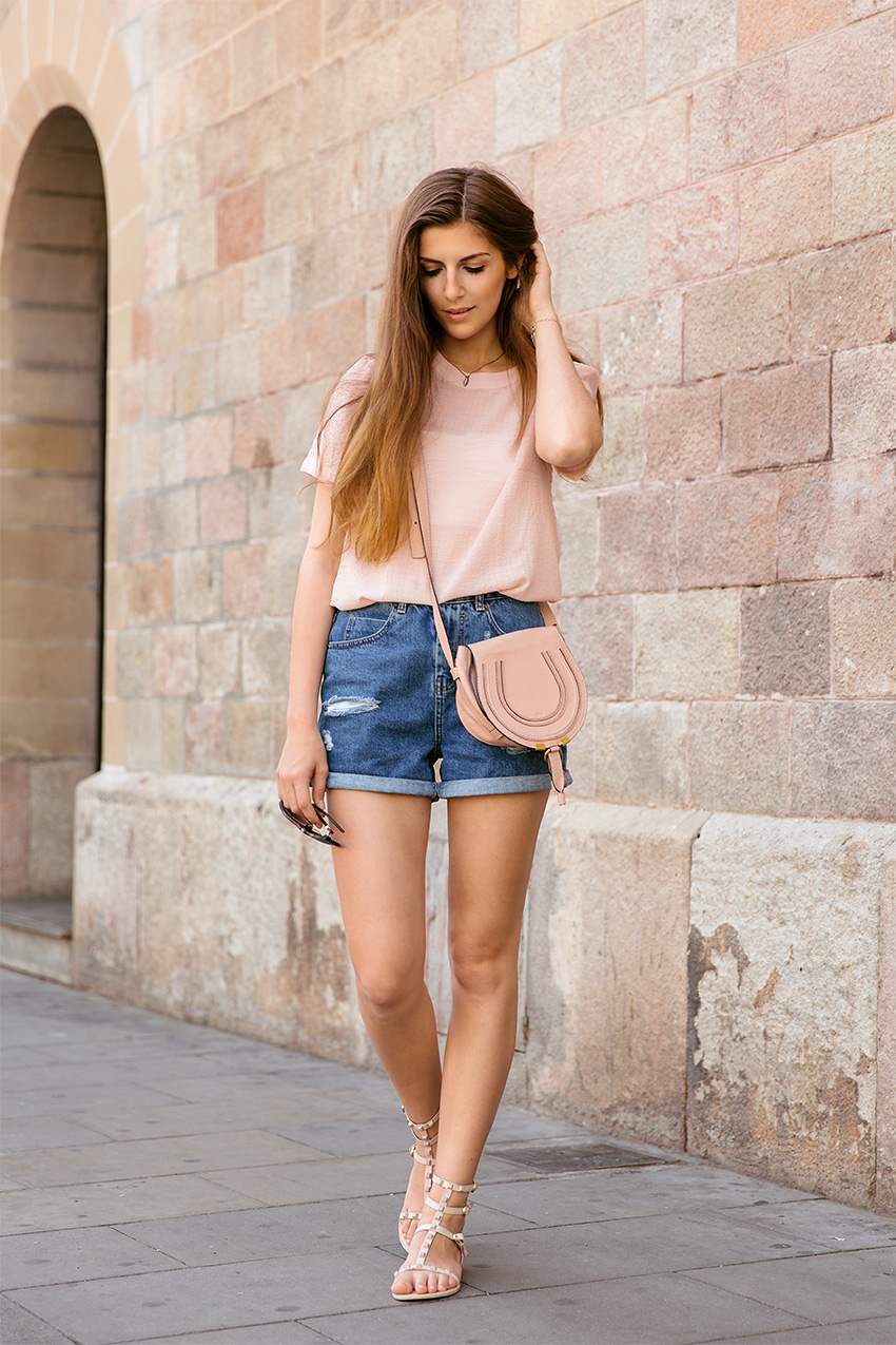 Rebecca Minkoff Gladiator Sandals 1 My July Outfits