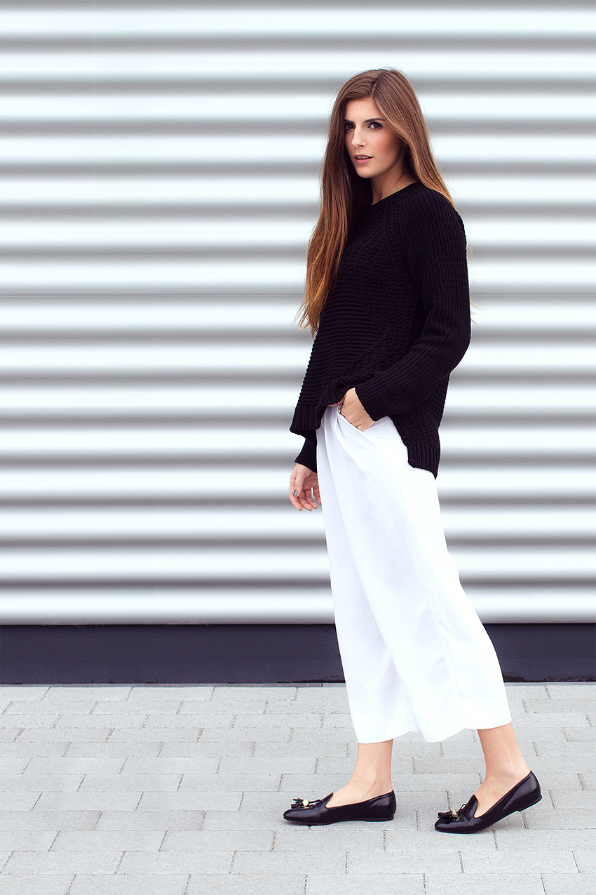 SimpleetCulottes 1 #WExAUTUMN: Culottes and Black Knit