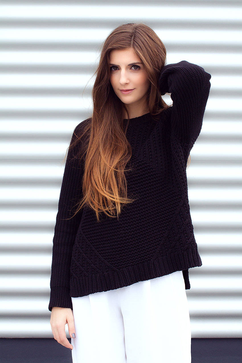 SimpleetCulottes 2 #WExAUTUMN: Culottes and Black Knit