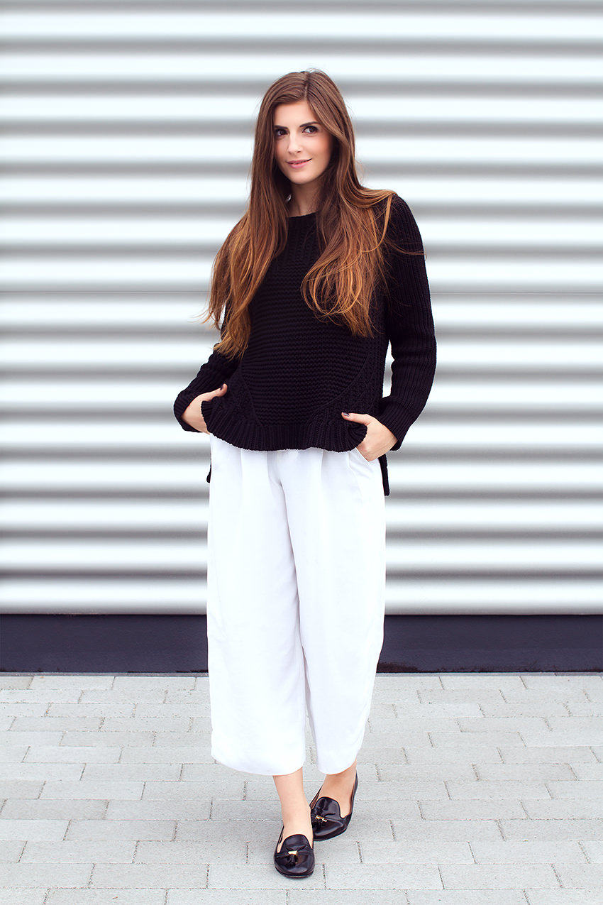 SimpleetCulottes 5 #WExAUTUMN: Culottes and Black Knit