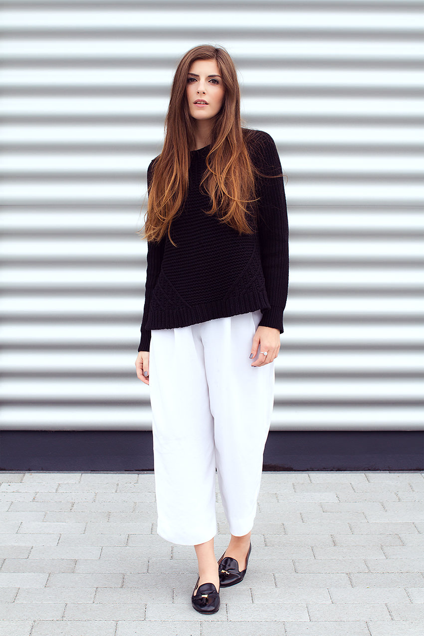 SimpleetCulottes 6 #WExAUTUMN: Culottes and Black Knit