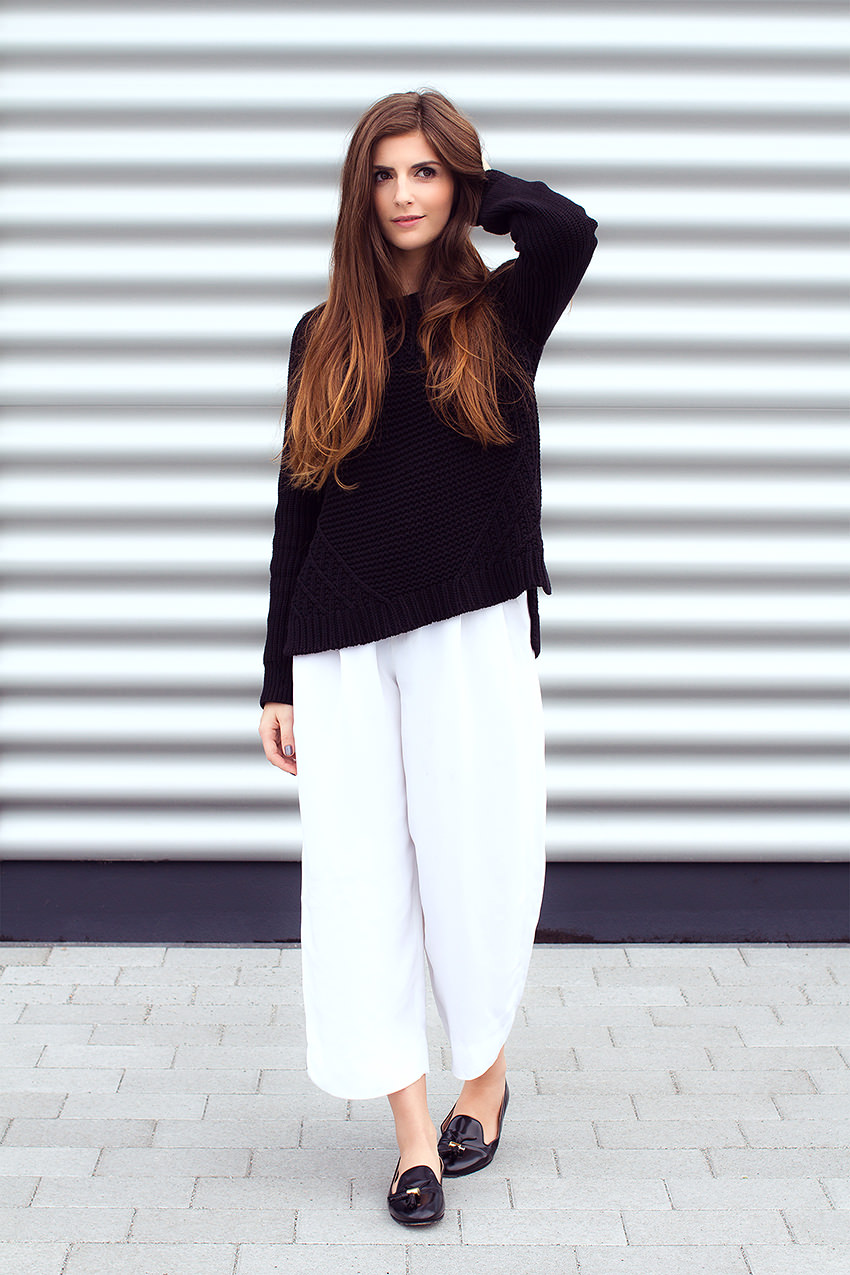 SimpleetCulottes 7 #WExAUTUMN: Culottes and Black Knit