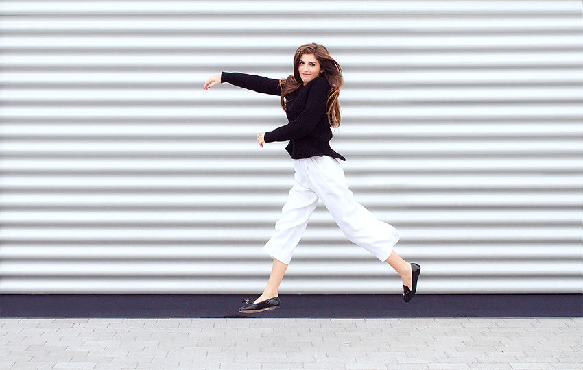 SimpleetCulottes 8 #WExAUTUMN: Culottes and Black Knit