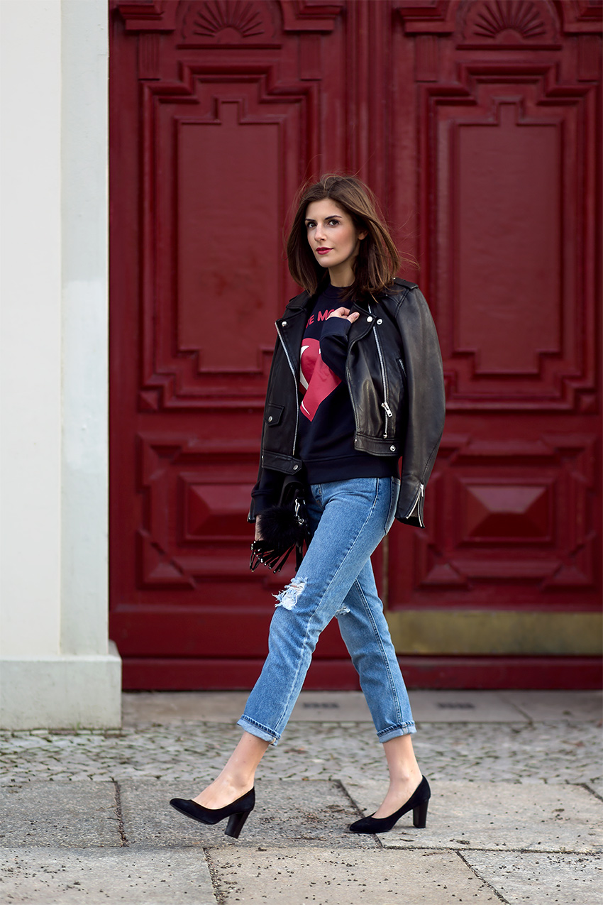 moschino leather jacket 1 Hey, Valentine
