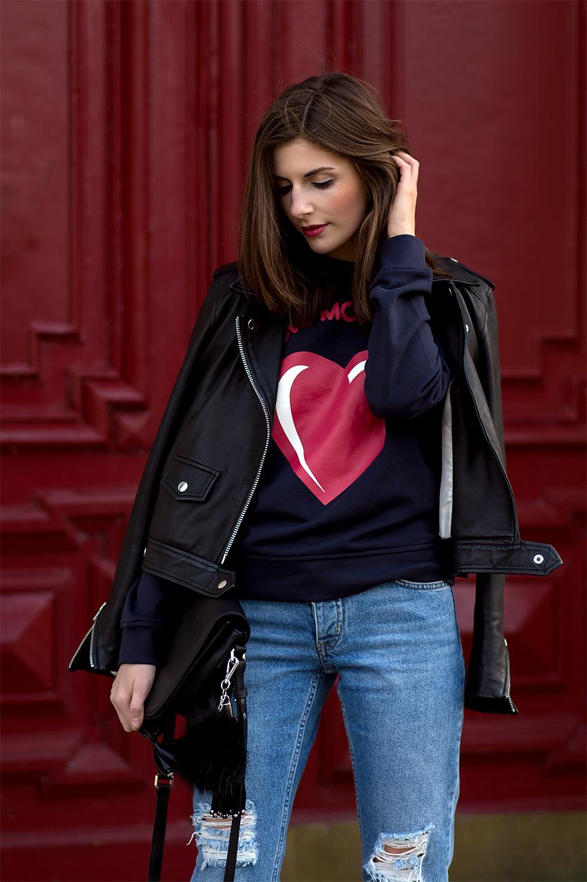 moschino leather jacket 3 Hey, Valentine