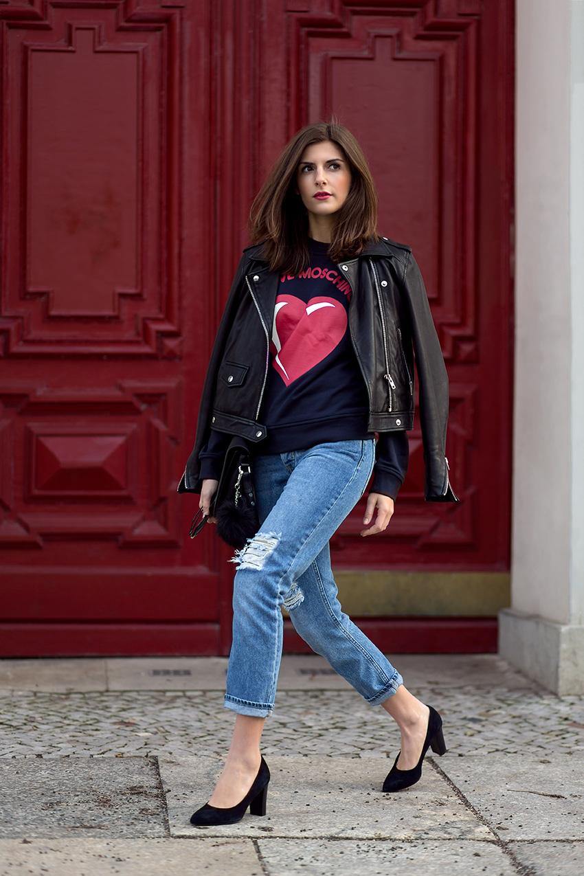 moschino leather jacket 4 Hey, Valentine