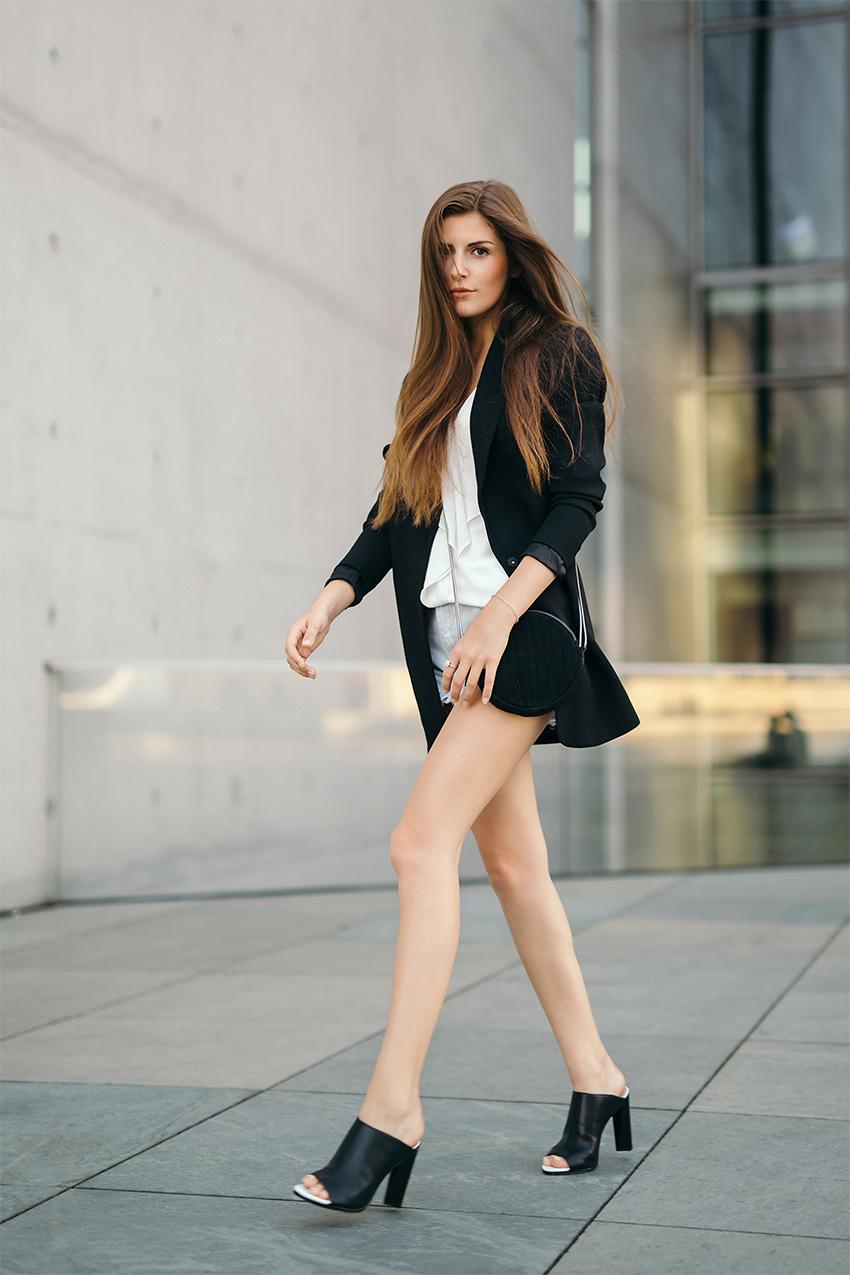 urban black blazer ripped denim 4 My July Outfits