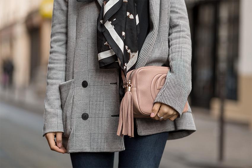 vintage designer rebelle gucci 1 Checkered Blazer and Vintage Gucci