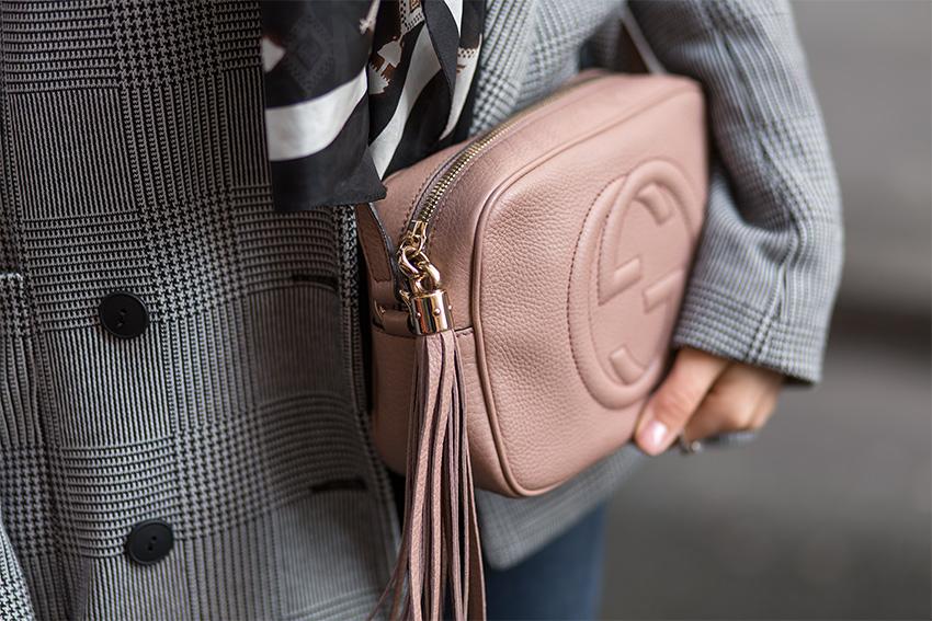 vintage designer rebelle gucci 3 Checkered Blazer and Vintage Gucci