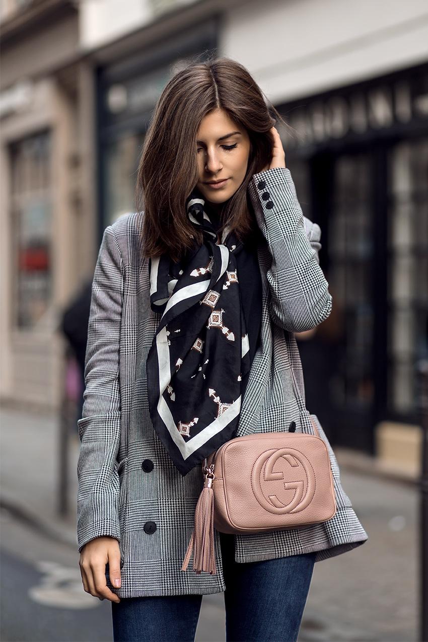 vintage designer rebelle gucci 4 Checkered Blazer and Vintage Gucci