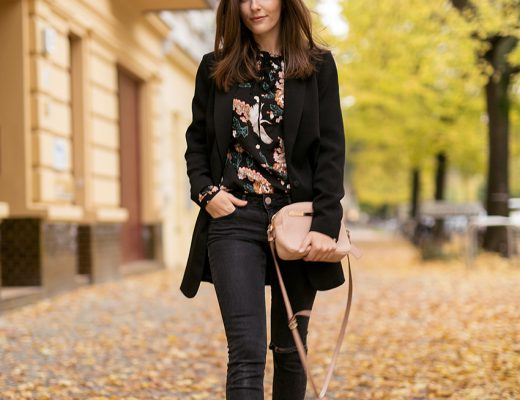 My favorite blouse and loafers