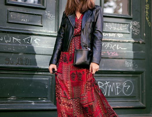 How to wear Maxi dresses in Fall 2