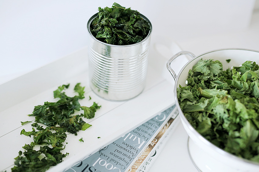 How to make the most delicious Kale Chips