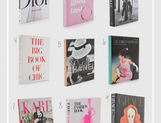 9 lovely coffee table books