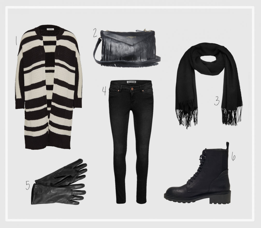 Black and White Winter Inspiration