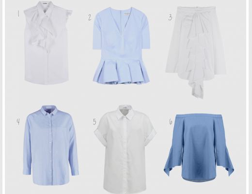 The most beautiful blouses Spring/Summer 2016