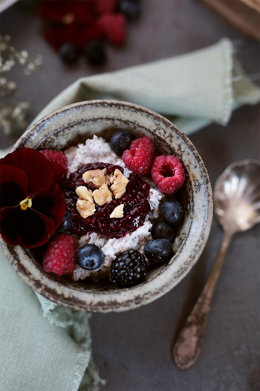 chia pudding raspberry jam 3
