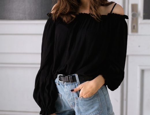 Off Shoulder Saint Laurent