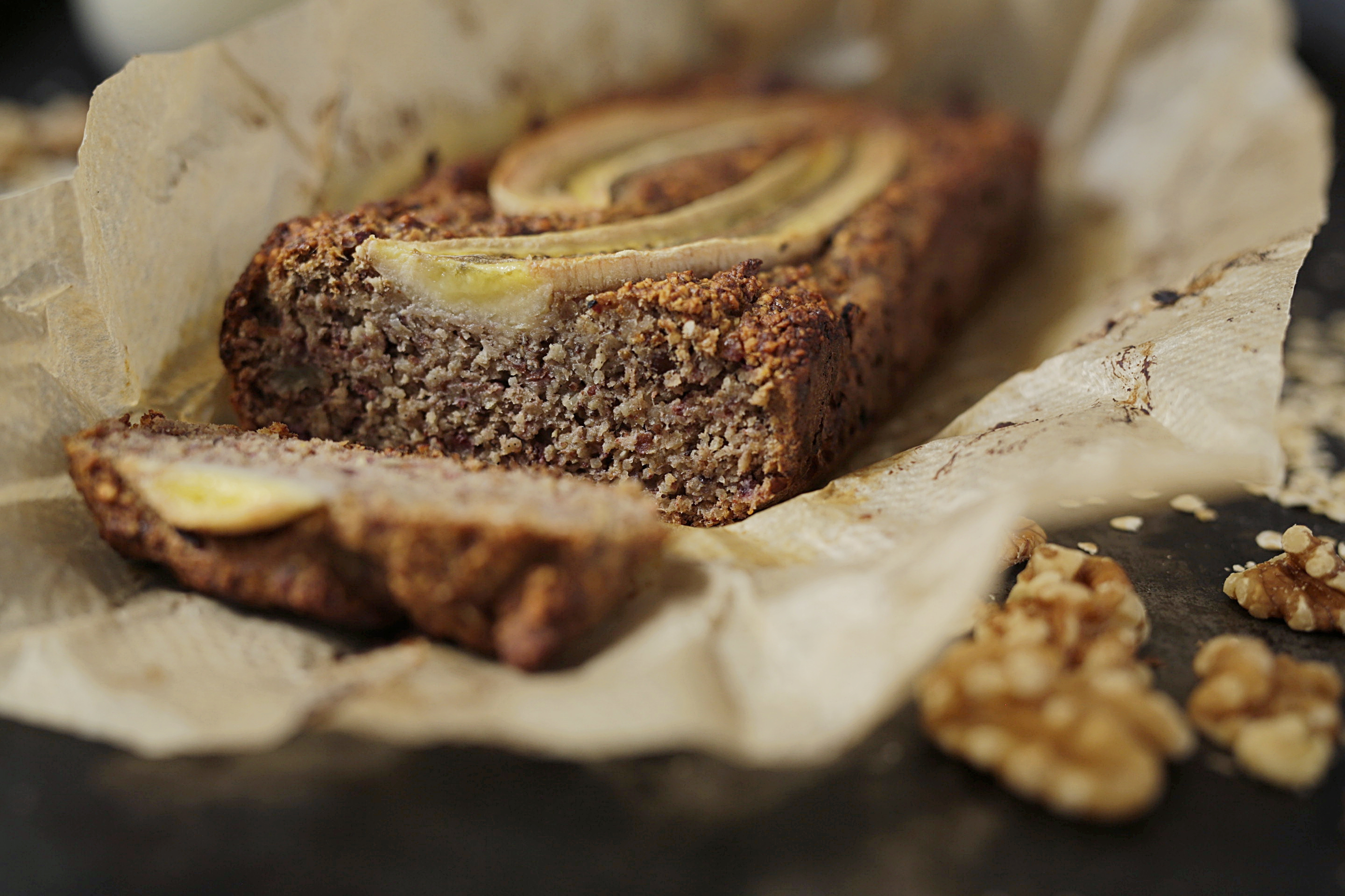 Easy vegan and gluten free Banana Bread
