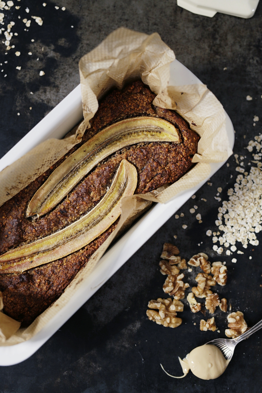 vegan and gluten free Banana Bread