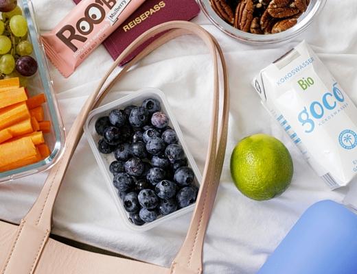 auf reisen gesund bleiben snacks