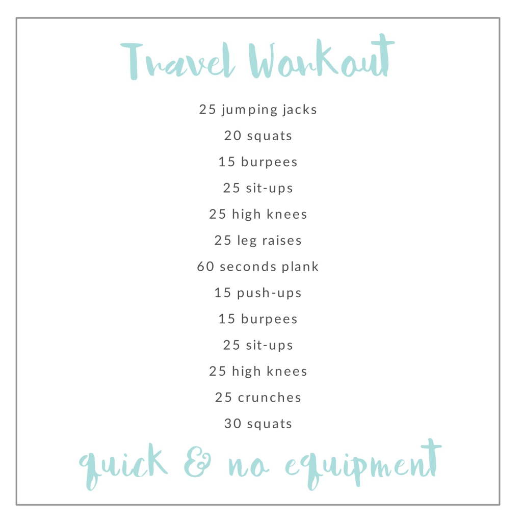 travelworkout