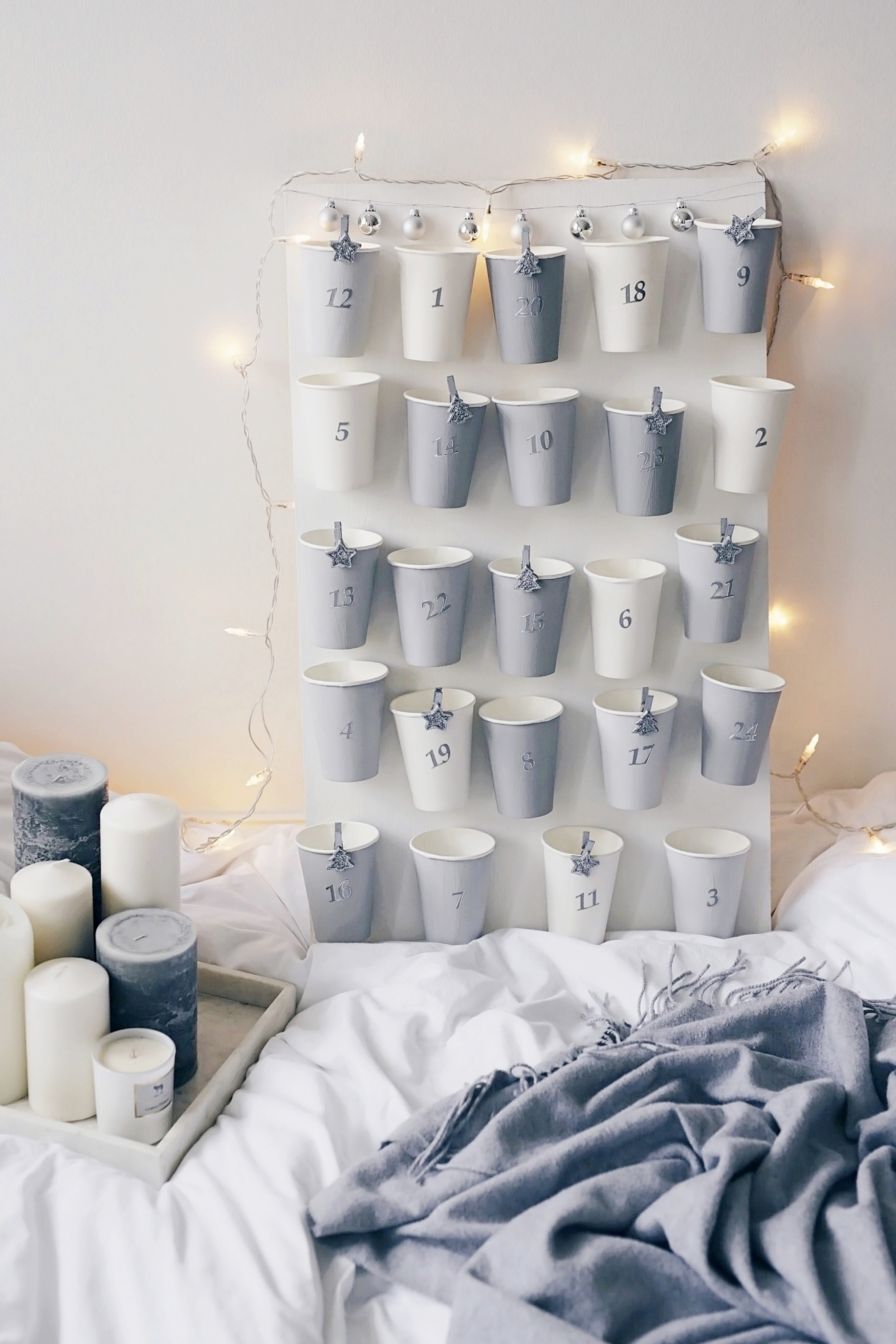 do it yourself scandi style advent calendar simple et chic fashion lifestyle blog. Black Bedroom Furniture Sets. Home Design Ideas