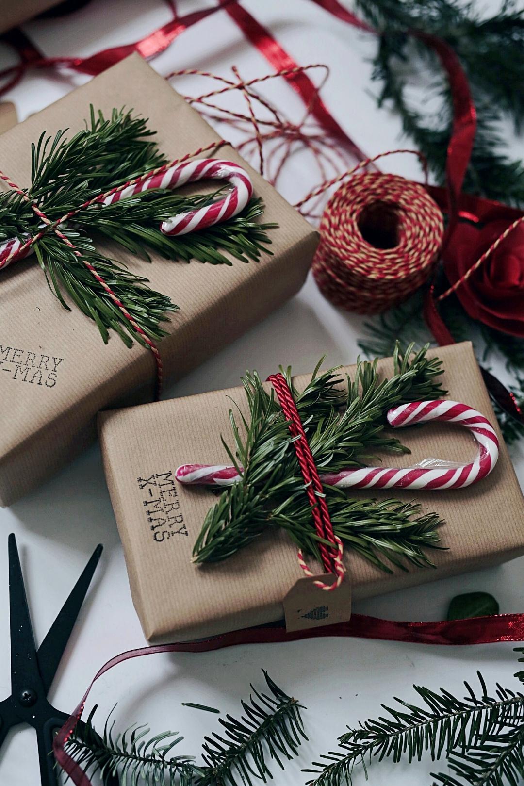 Schöne Weihnachtsgeschenke.4 Schöne Ideen Um Weihnachtsgeschenke Zu Verpacken Valeriehusemann