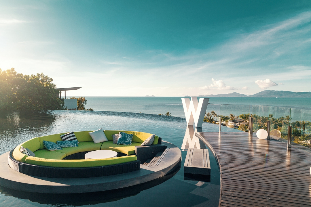 W hotel koh samui the hippest place in thailand simple for Design hotel koh samui