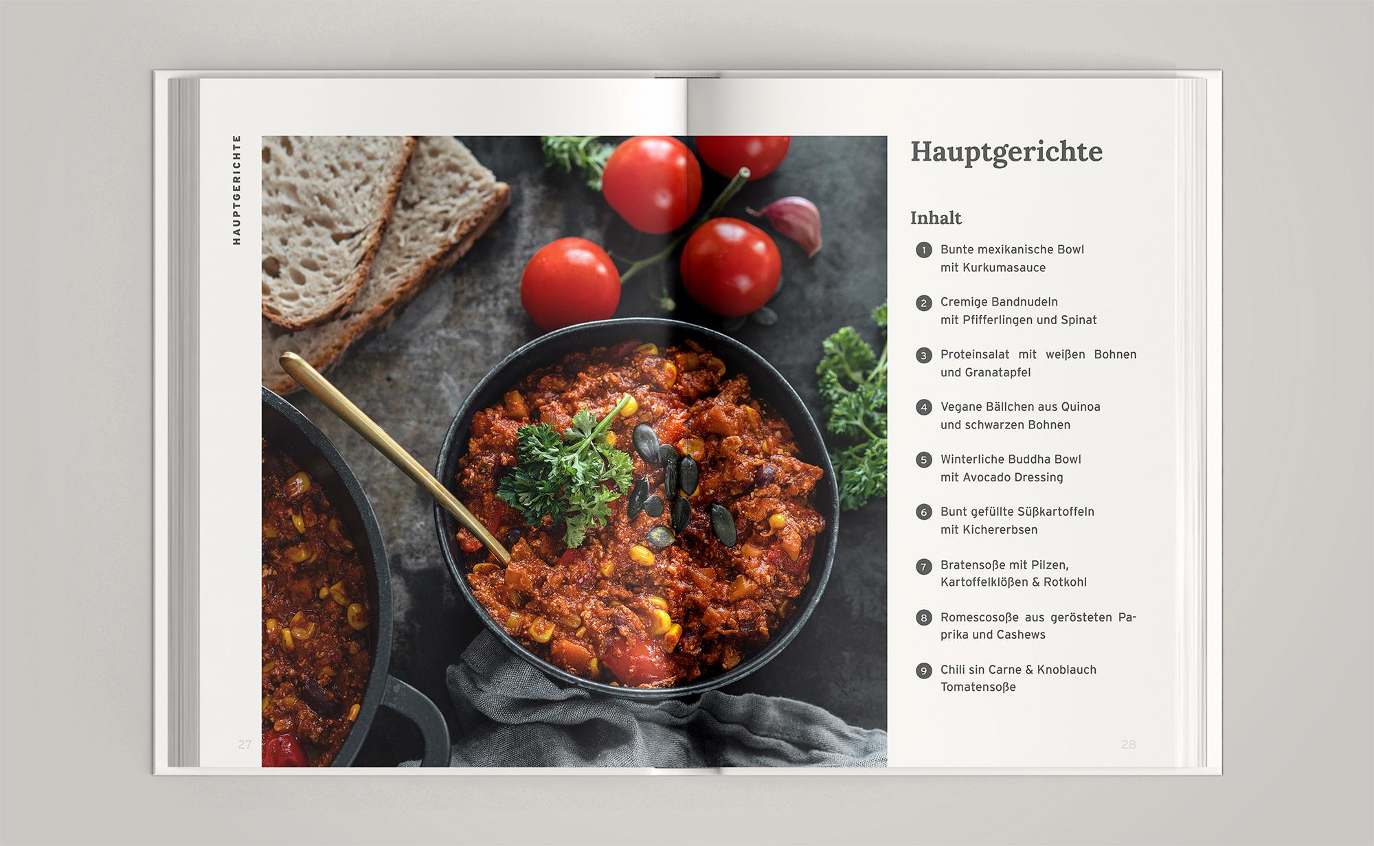 Soulfood zum Wohlfühlen - vegane Rezepte für Herbst und Winter Hauptgerichte